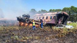 Al menos 18 muertos en un accidente de tren en