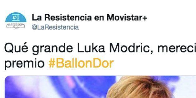 Captura de pantalla de la cuenta de Twitter de 'La