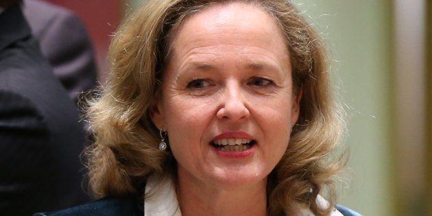 La ministra de Economía, Nadia Calviño, el pasado 5 de noviembre en una reunión del Eurogrupo en
