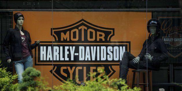 Imagen de una de las tiendas de Harley en Nueva