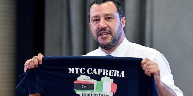 El ministro del Interior italiano y líder de la ultraderechista Liga, Matteo