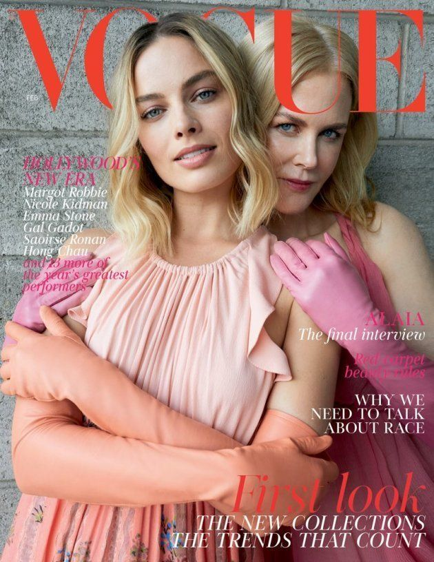Duras críticas a la última portada del 'Vogue' británico con Margot Robbie y Nicole