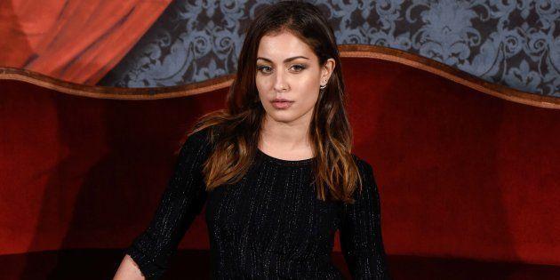 Hiba Abouk en el estreno de la película 'Muchos hijos, un mono y un castillo' en