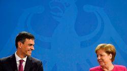 Merkel, dispuesta a apoyar a España si crece la llegada de
