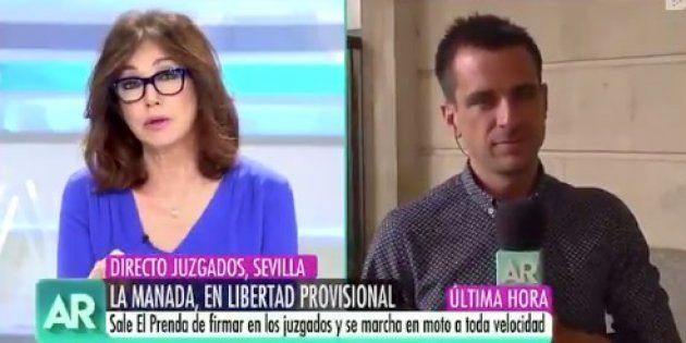 Ana Rosa Quintana niega que vaya a pagar a los miembros de 'La Manada' por una