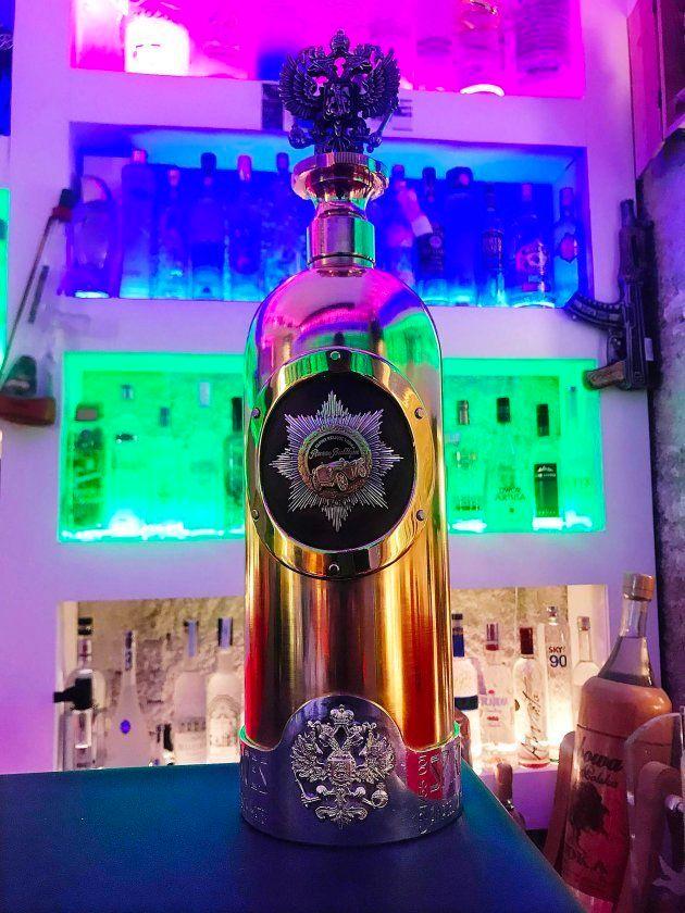 Imagen de la botella de vodka de 1,1 millones de