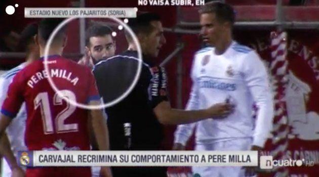 Carvajal responde a 'Deportes Cuatro' por acusarle de este feo