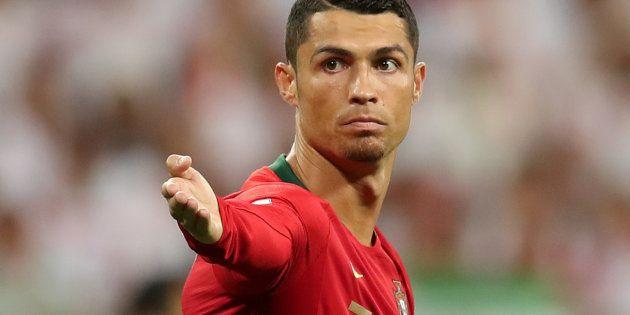 Cristiano Ronaldo, este verano en un partido con su selección, en el Mundial de