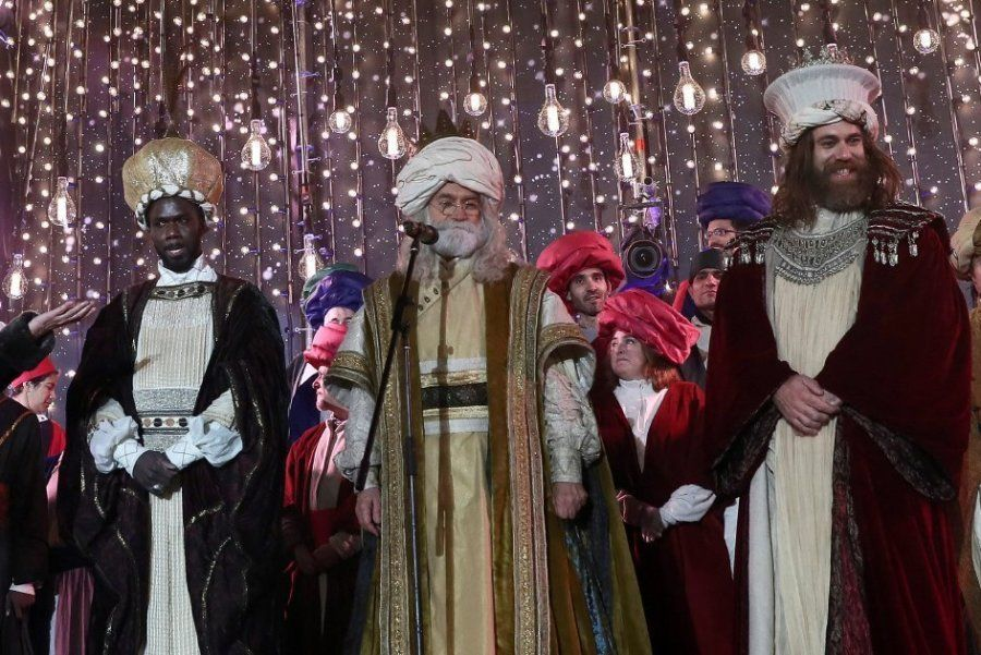 Las mejores fotos de la cabalgata de Reyes de