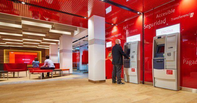 Una oficina Smart Red de Banco