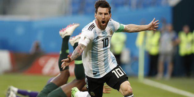 El hachazo de Gary Lineker a Messi tras su primer gol en el