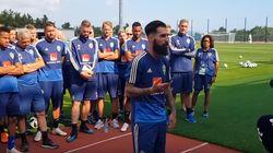 La selección de Suecia, tras los insultos y amenazas a Durmaz: