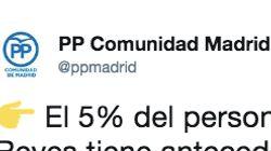 Críticas al PP de Madrid por este tuit sobre la Cabalgata de