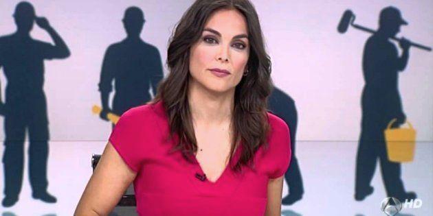 Mónica Carrillo (Antena 3 Noticias) resume en cinco palabras uno de los momentos más bochornosos jamás