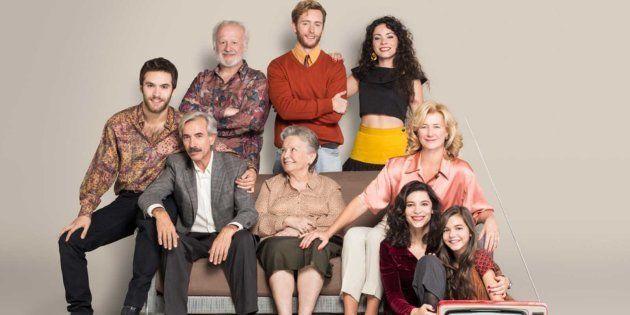 La familia Alcántara, protagonista de 'Cuéntame cómo pasó'