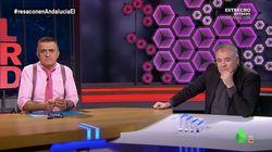 García Ferreras sorprende con su reacción en 'El Intermedio' al polémico titular sobre su