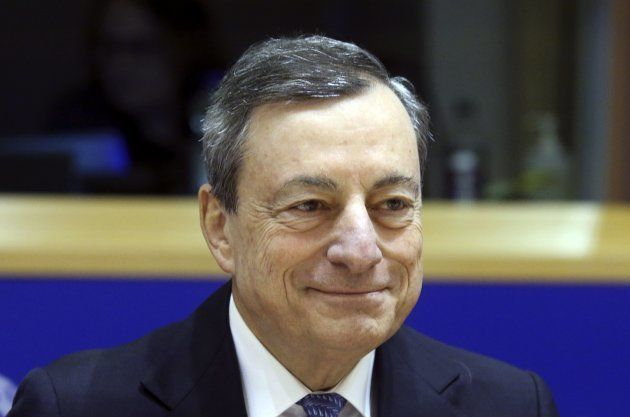 Mario Draghi, presidente del Banco Central