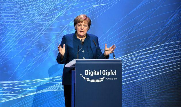 Angela Merkel, canciller de