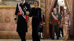 El 'look' de la reina Letizia en la Pascua