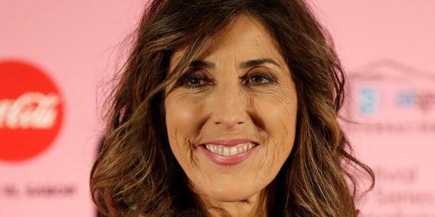 La presentadora y actriz Paz