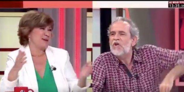 El tenso encontronazo entre Willy Toledo y Nativel Preciado en 'Al Rojo
