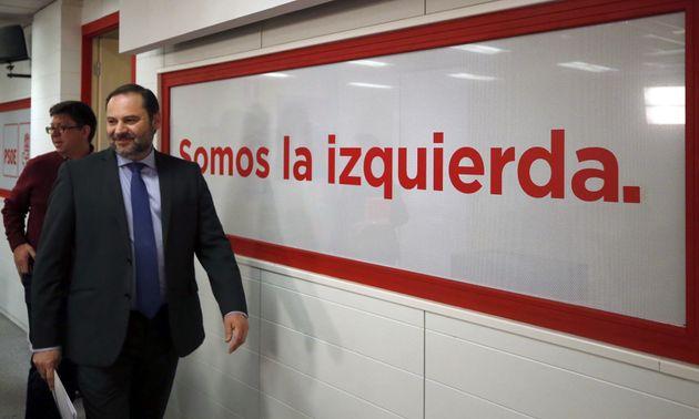 GRAF2714. MADRID, 29/12/2017.- El secretario de Organizaci�n del PSOE, Jos� Luis �balos, durante...