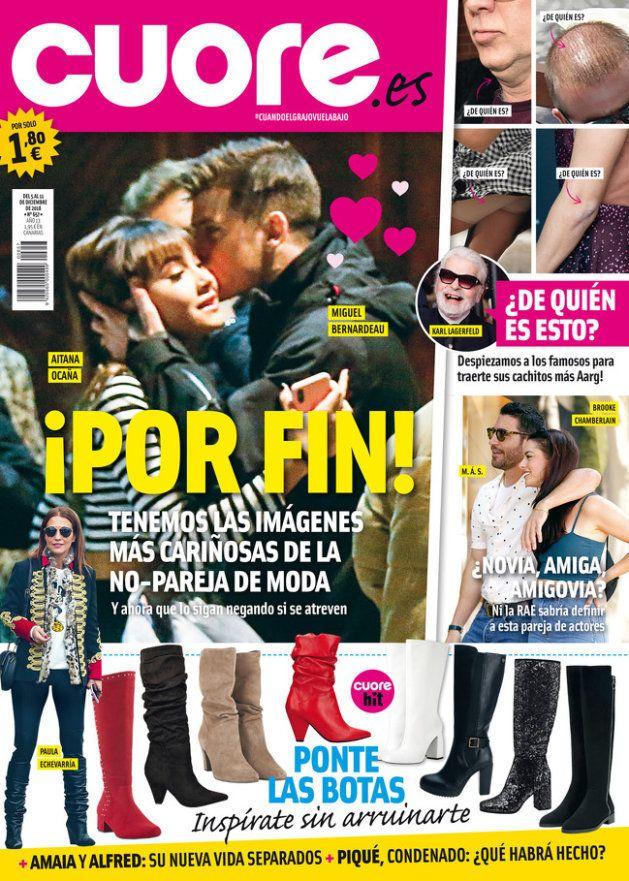 Aitana y Miguel Bernardeau, en la portada de la