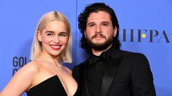Khaleesi y Jon Nieve se reencuentran en los Globos de