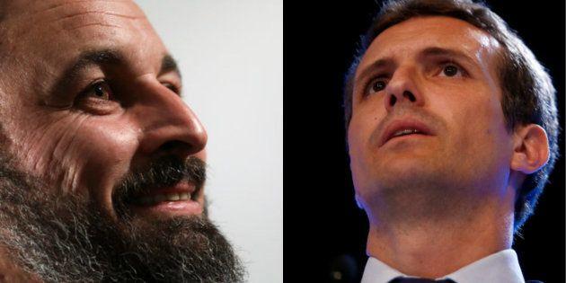 Santiago Abascal y Pablo