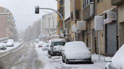 Riesgo en 26 provincias por frío, nieve y