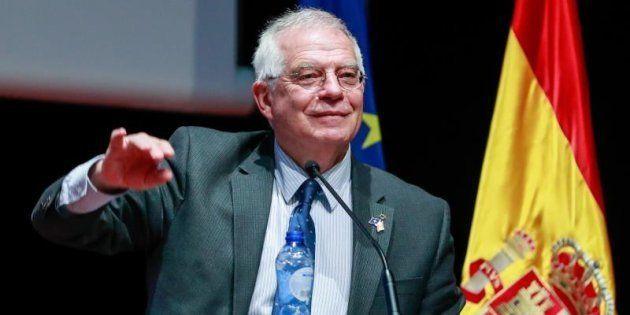 El ministro español de Exteriores y Cooperación, Josep