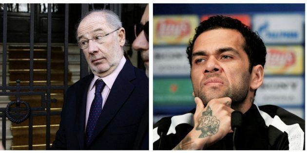 Rodrigo Rato, Miguel Bosé y Dani Alves, en la nueva lista de