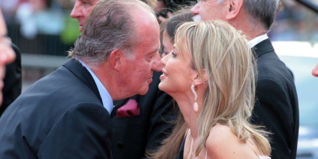 El rey Juan Carlos y Corinna, en una imagen de