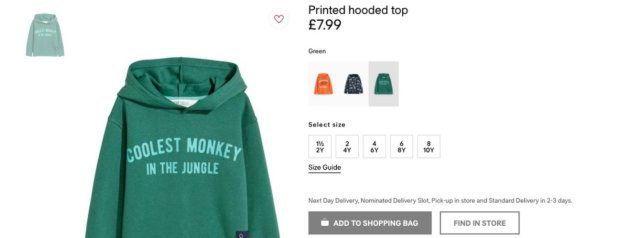 H&M retira una campaña infantil tras recibir críticas por