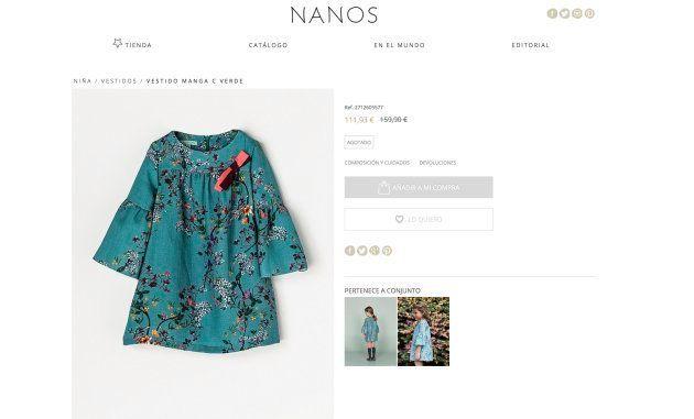El vestido infantil de 160 euros que ha agotado existencias gracias a esta