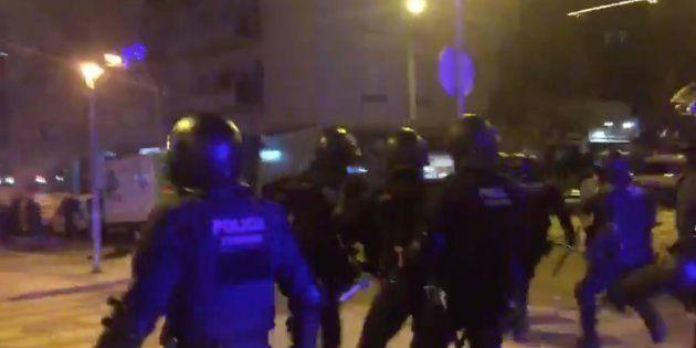 Cargas policiales en
