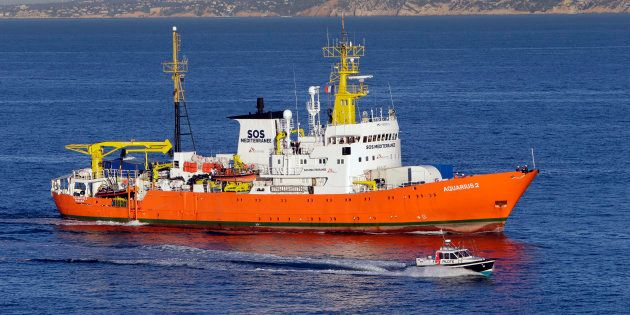 MSF jubila el barco Aquarius tras denunciar una