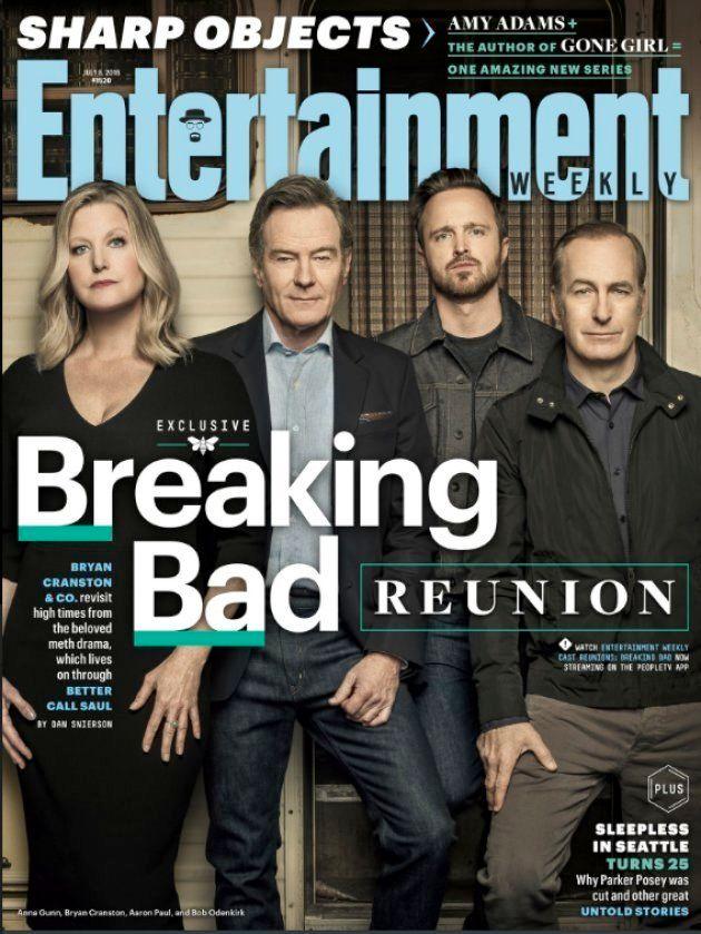 Los protagonistas de 'Breaking Bad' se reúnen 10 años después del inicio de la