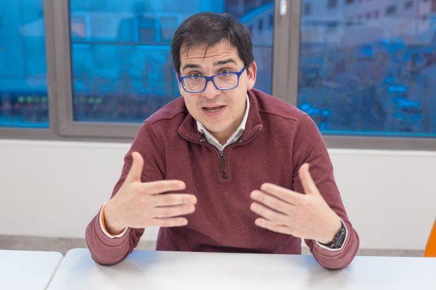 """José María Espejo: """"Una investidura por Skype es"""