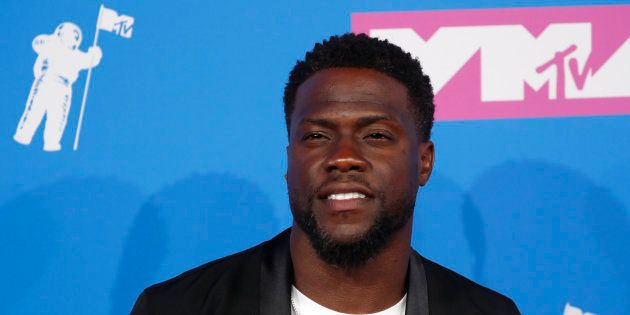 El actor Kevin Hart, en los MTV Video Music Awards