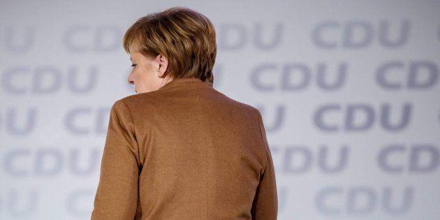 Imagen de archivo de la canciller alemana Angela