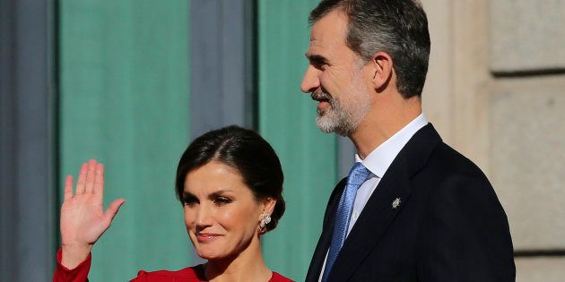 Los reyes Felipe VI y Letizia, en el aniversario de la Constitución en