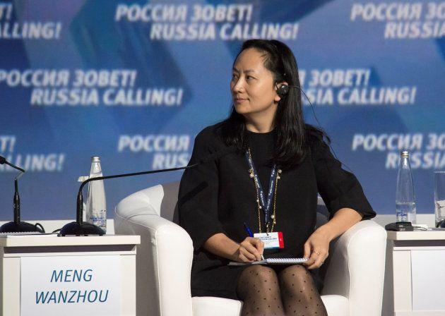 Meng Wanzhou, directora financiera de