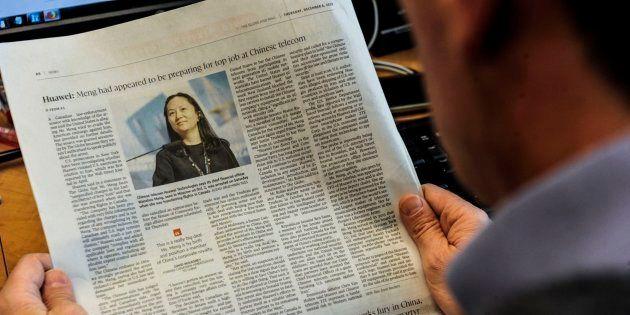 Un periódico se hace eco de la detención de la directora financiera de