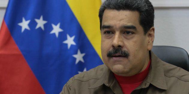 Maduro acusa a las grandes agencias de noticias, entre ellas EFE, de hacer campaña contra