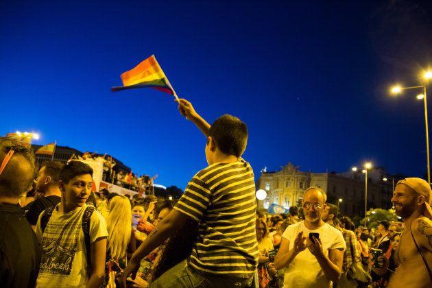 Manifestación del Orgullo LGTBI en Madrid en