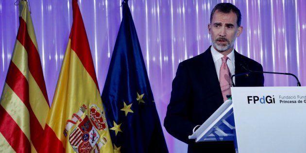 Felipe VI destaca la contribución de Cataluña