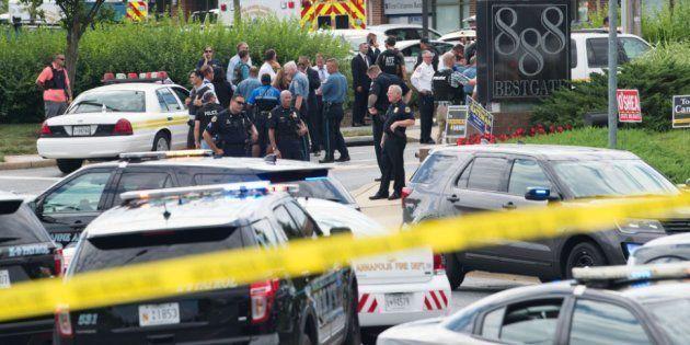 Al menos cinco muertos en un tiroteo en la redacción de un periódico en Annapolis