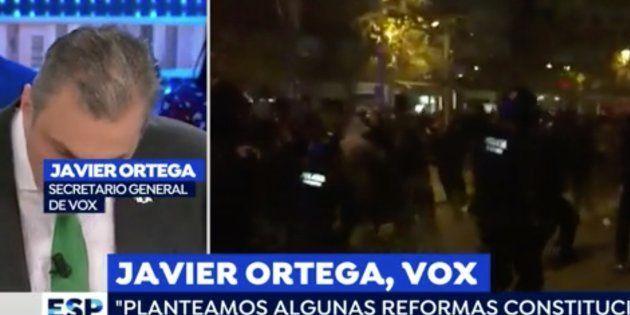 Javier Ortega, secretario general de Vox, en 'Espejo