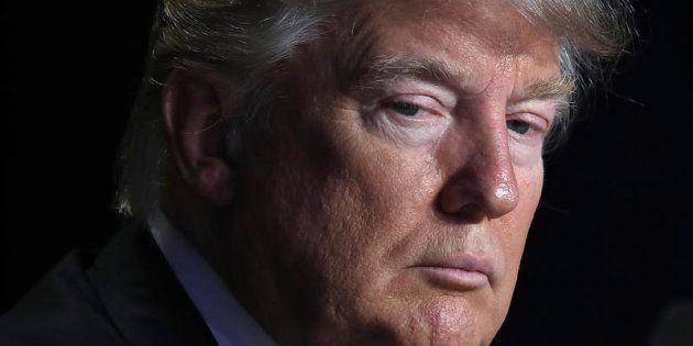 Donald Trump, fotografiado en febrero de